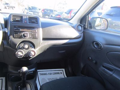 2013 Nissan Versa S, Clean Carfax, One Owner Vehicle!