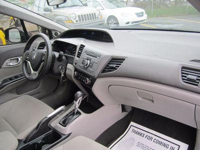 2012 Honda Civic Sdn EX, Clean Carfax!
