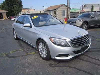 2015 Mercedes-Benz S-Class S550, Nav, Backup Cam, LOADED!