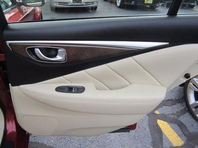2014 INFINITI Q50 Premium, Factory Warranty, Nav, Clean Ca