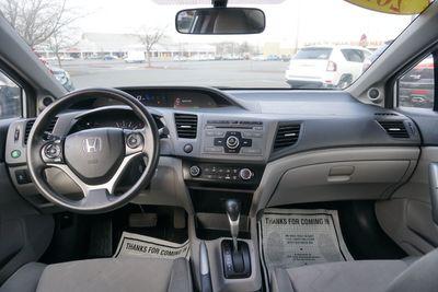2012 Honda Civic LX, COUPE